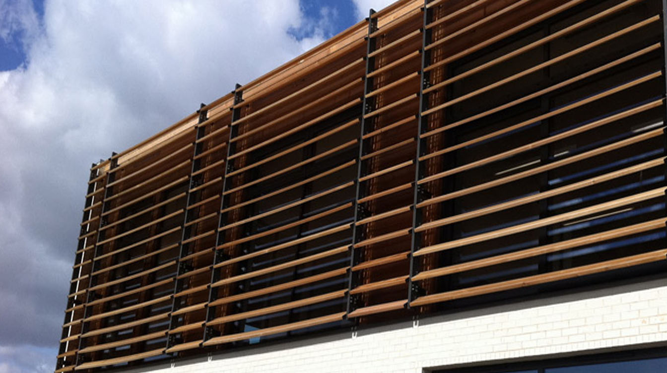 Innowood Sol Art Shading Systems Enhance A Building S