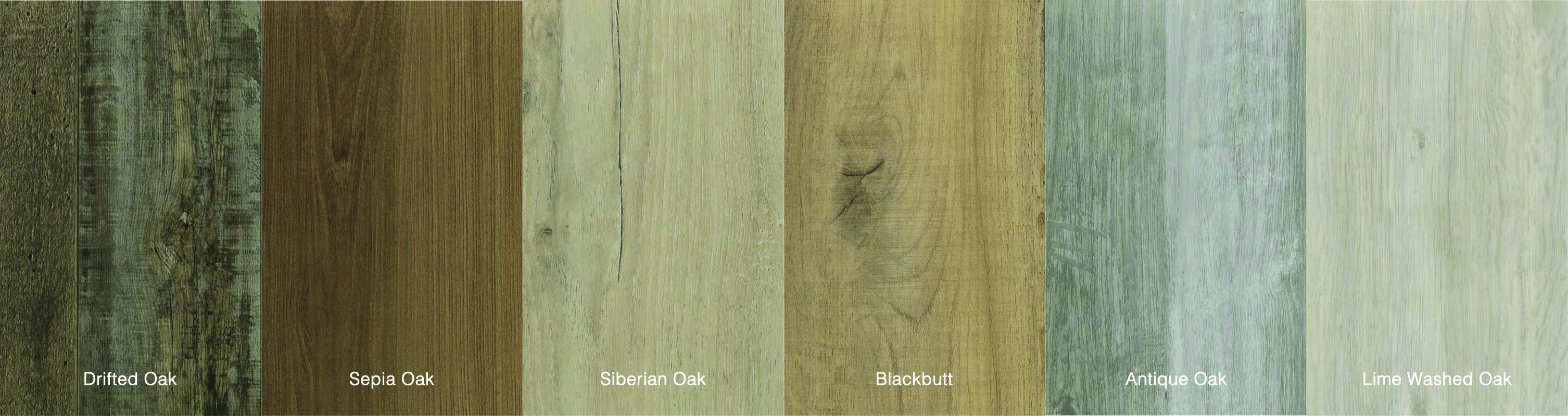 Flooring Colour chart