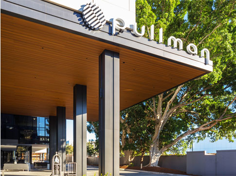 Pullman Hotel Mascot Composite Timber Decking