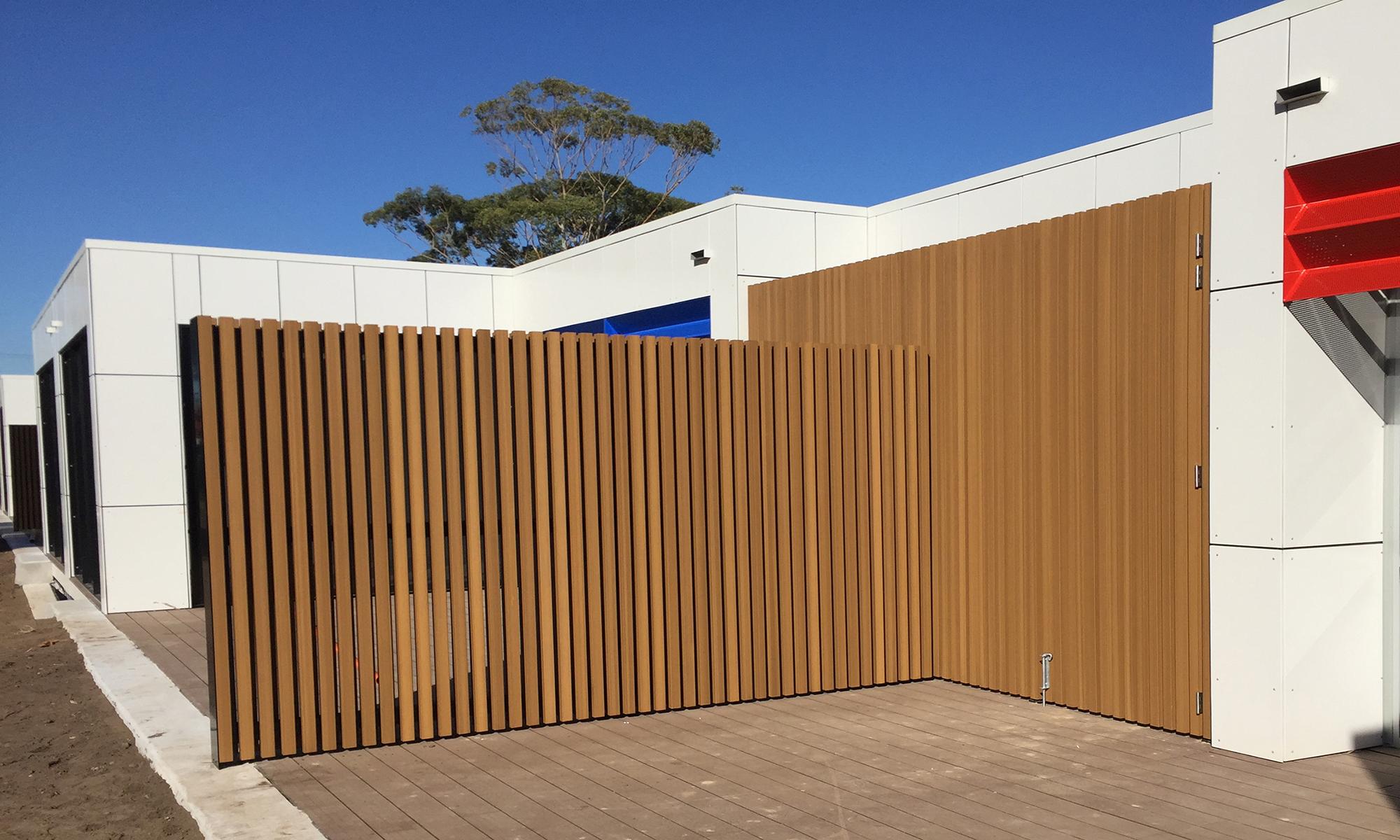 Cairnsfoot School Composite Timber Decking Composite