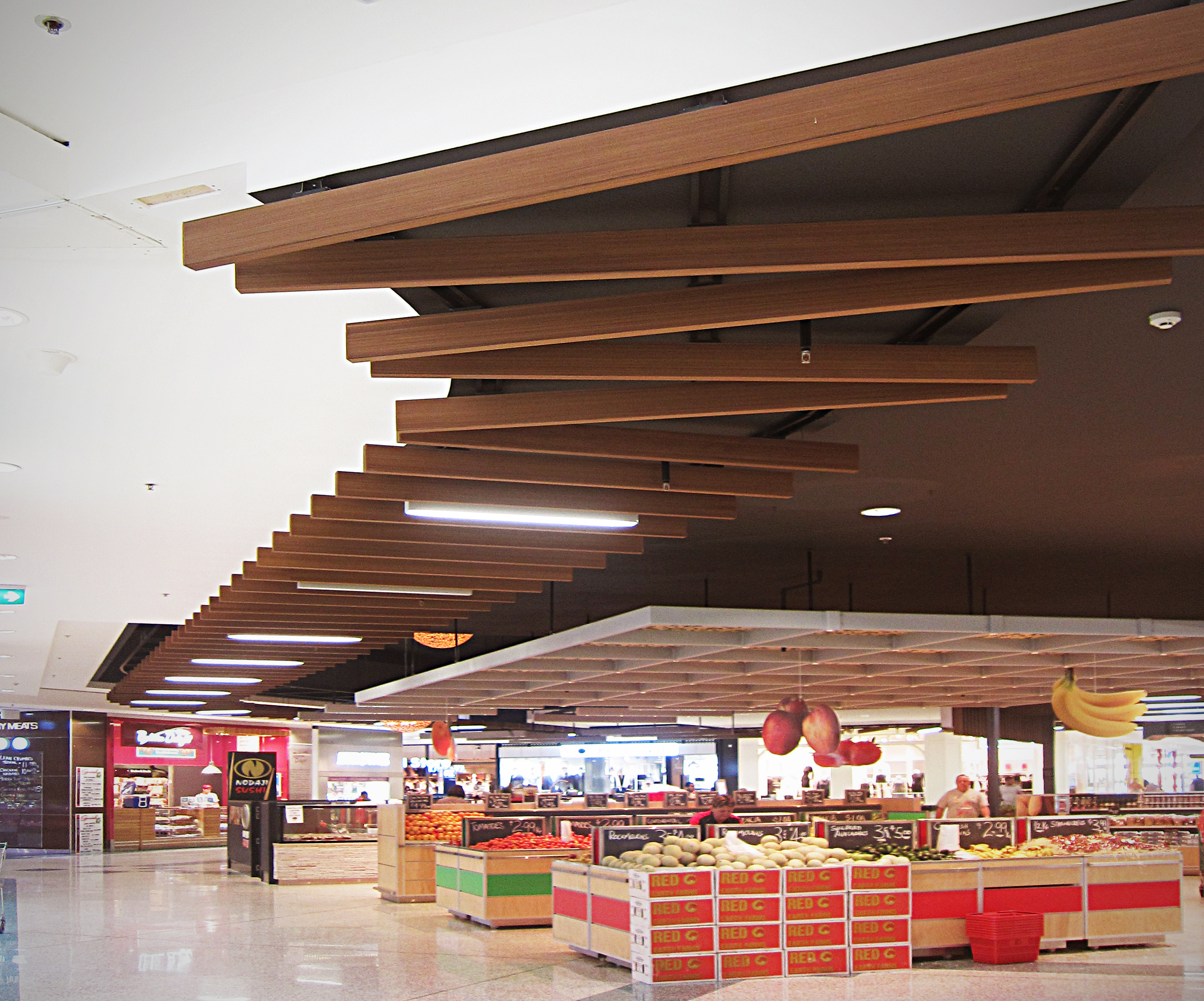 kawana shopping centre composite timber decking