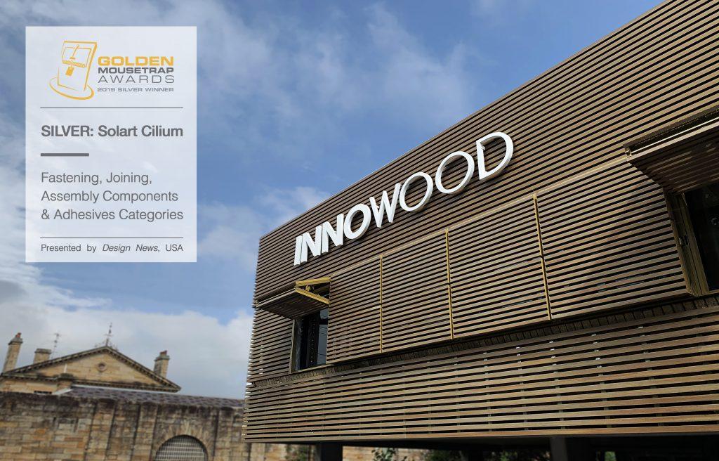 SOL'ART CILIUM installed at INNOWOOD's North Parramatta showroom
