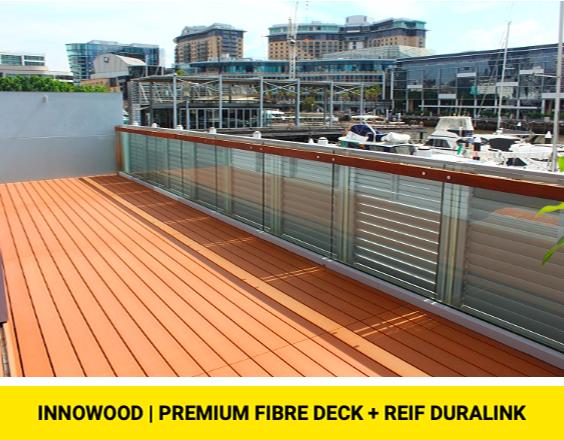 INNOWOOD - Fibre Deck + Reif DuraLink
