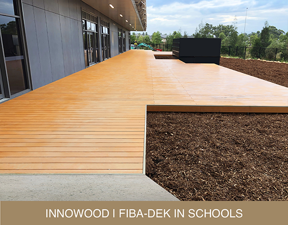 INNOWOOD FIBA-DEK IN SCHOOL